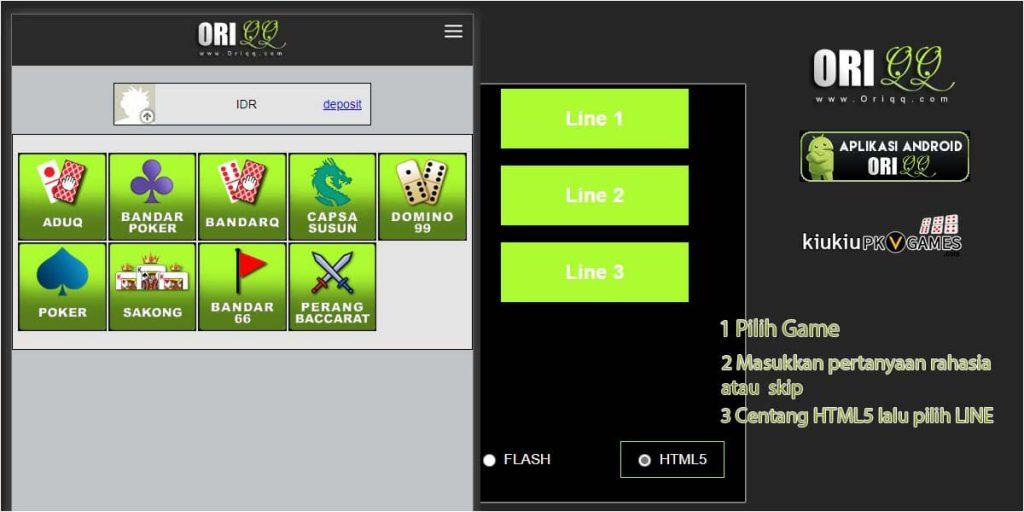 HTML5 pkvgames
